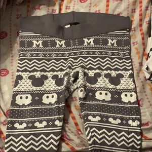 Mickey Mouse Sweater Leggings
